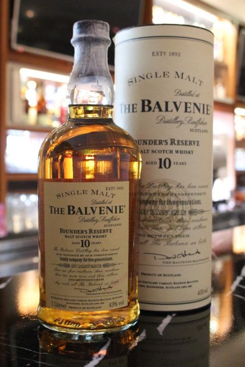 The BALVENIE 10 years Founder's Reserve 百富 10年 (1000ml 43%)