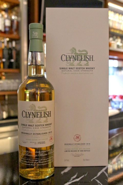 (現貨) CLYNELISH Natural Cask Strength 2015 克萊力士 精選桶 原酒 2015 (700ml 56.1%)