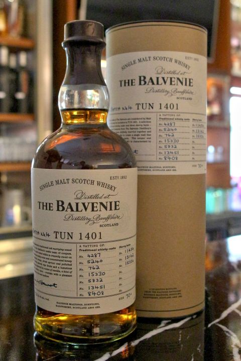 (現貨) The BALVENIE Tun 1401 Batch No.4 百富 1401 第四批次 (700ml 50.4%)