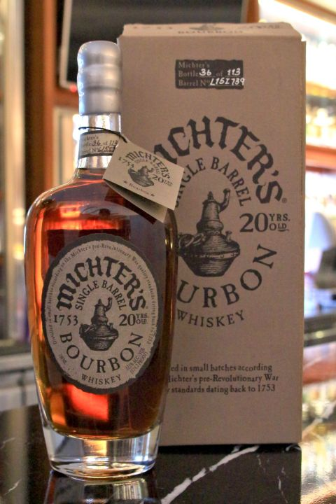 Michter's Single Barrel Bourbon 20 years 酩帝 20年 單桶波本 (700ml 57.1%)