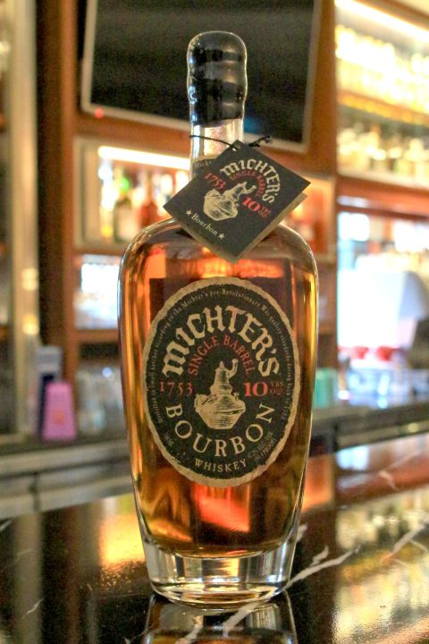 (現貨) Michter's Single Barrel Bourbon 10 years 酩帝 10年 單桶波本 (700ml 47.2%)