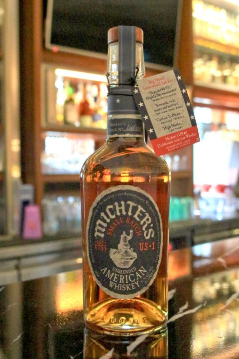(現貨) Michter's US★1 Unblended American Whisky 酩帝 非調和 美國威士忌  (700ml 41.7%)