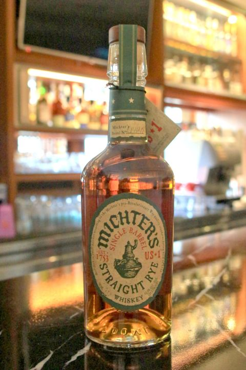 (現貨) Michter's US★1 Straight Rye Whisky 酩帝 裸麥威士忌 (700ml 42.4%)