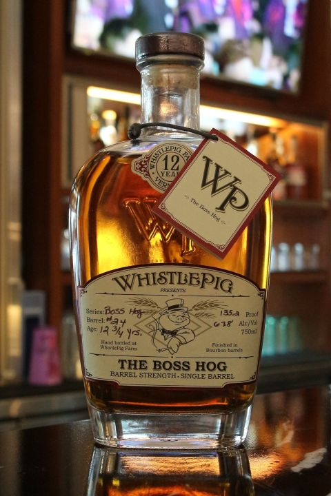 WhistlePig 12 years The Boss Hog 2013 口哨豬 12年 單桶波本 2013版 (750ml 67.8%)