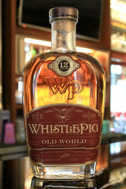 (現貨) WhistlePig 12 years Straight Rye Whisky Sauternes Cask 口哨豬 12年 裸麥 法國貴腐酒桶 (750ml 45%)