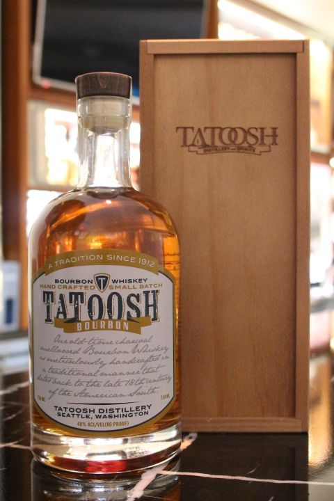 (現貨) Tatoosh Bourbon Whisky Small Batch 坦圖仕 波本威士忌 (750ml 40%)