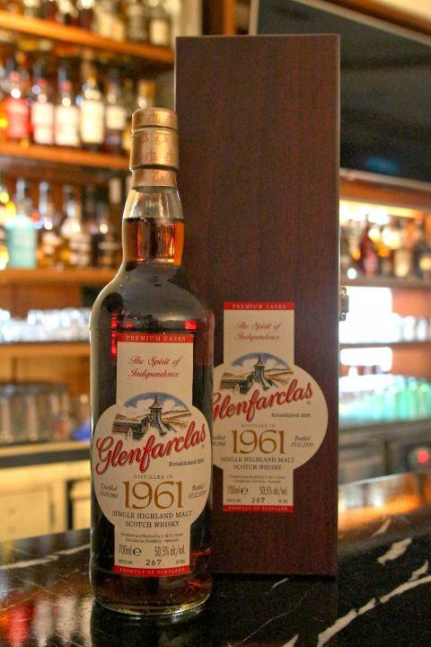 (現貨) Glenfarclas 1961 格蘭花格 1961 2009年裝瓶 經典珍藏 (700ml 50.5%)