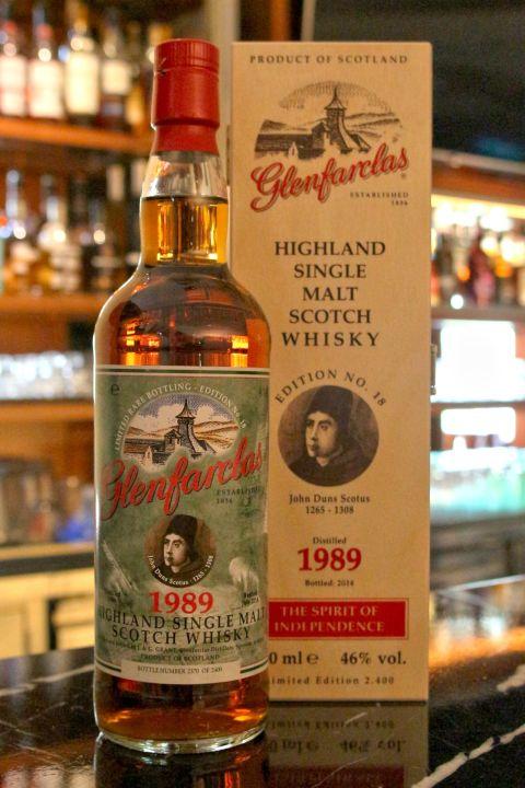 Glenfarclas 1989 格蘭花格 1989 2014年裝瓶 (700ml 46%)