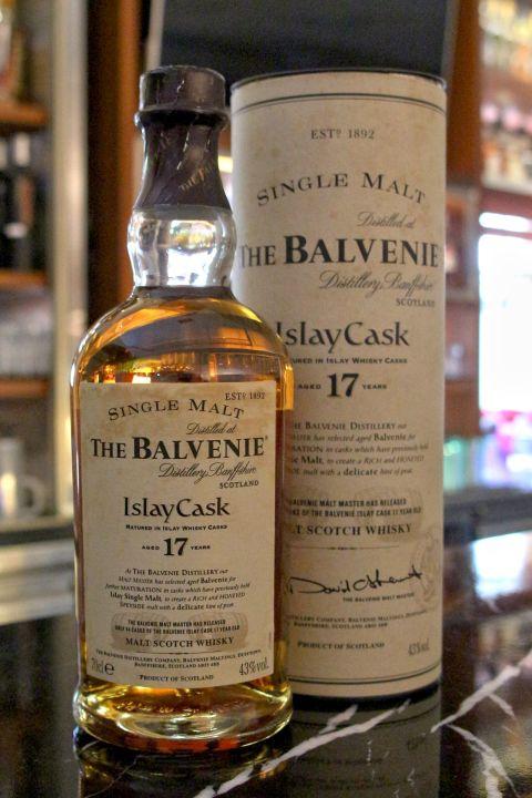 (現貨)The BALVENIE 17 years Islay Cask Old Version 百富 17年艾雷桶 絕版 (700ml 43%)