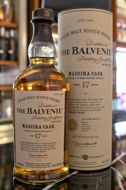 (現貨) The BALVENIE 17 years MADEIRA Cask Old Version 百富 17年 馬德拉桶 絕版 (700ml 43%)