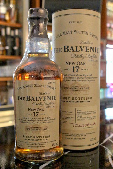 The BALVENIE 17 years New Oak Old Version 百富 17年 新美國桶 絕版 (700ml 43%)