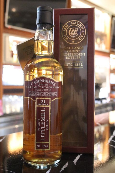 (現貨) Cadenhead's Littlemill 21 years 小磨坊 21年 稀有IB 消失的酒廠 (700ml 55.2%)