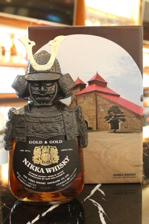 (現貨) Nikka whisky Gold & Gold Kabuto 一甲威士忌 武將 機場版 (750ml 43%)