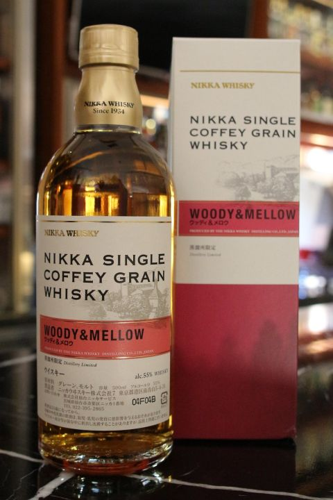 (現貨) Nikka Single Coffey Grain Whisky Woody & Mellow (500ml 55%)
