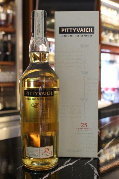 (現貨)  PITTYVAICH 25 Years 皮耶維奇 25年 消失的酒廠 (700ml 49.9%)