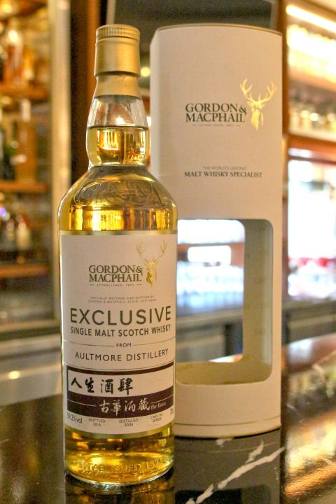 (現貨) G&M AULTMORE Single Cask 雅墨 古華酒藏 單桶原酒 2000-2016 (700ml 59.2%)