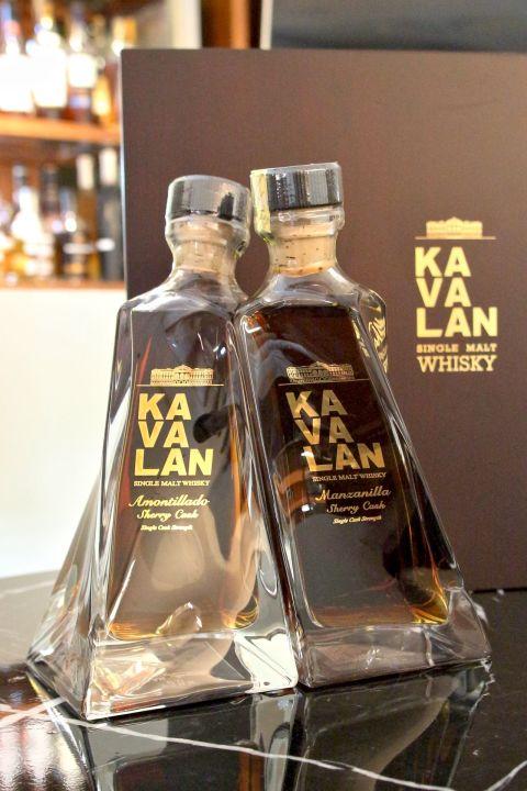 KAVALAN A&M 噶瑪蘭 尊釀威士忌原酒 A&M雪莉桶對酒組 (500ml 55.6% 57.8%)