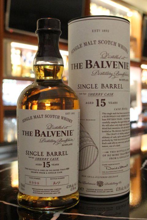 (現貨) The BALVENIE 15 years Single Barrel Sherry Cask 百富 15年 雪莉單桶 (700ml 47.8%)