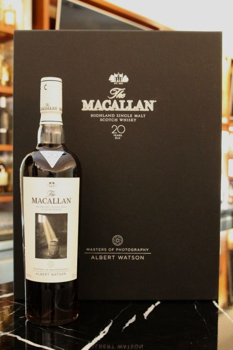 (現貨) Macallan Masters of Photography Albert Watson 麥卡倫 攝影大師 白色藝術 (700ml 43%)