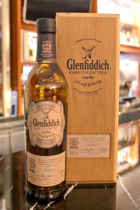 (現貨) Glenfiddich Vintage 1974 36 years 格蘭菲迪 1974 36年 (700ml 46.8%)