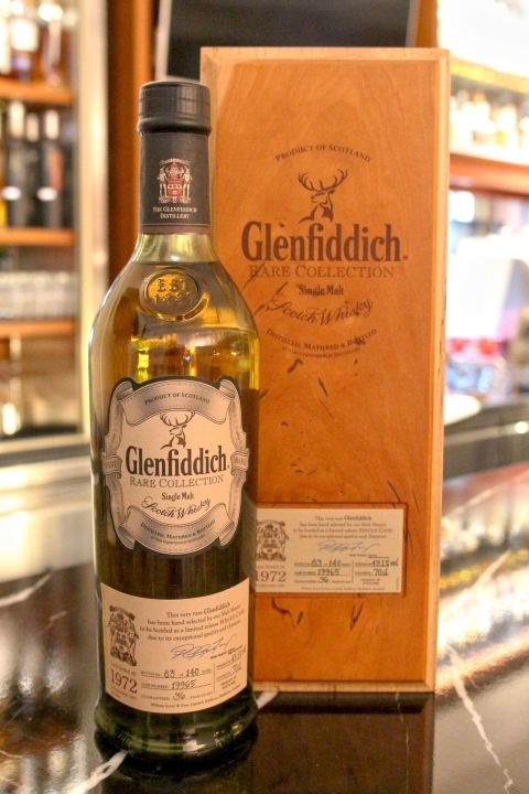 (現貨) Glenfiddich Vintage 1972 36 years 格蘭菲迪 1972 36年 單桶 (700ml 43.1%)