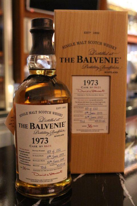 (現貨) The BALVENIE Vintage Cask 1973 36 years 百富 1973 36年 單桶 (700ml 43.5%)