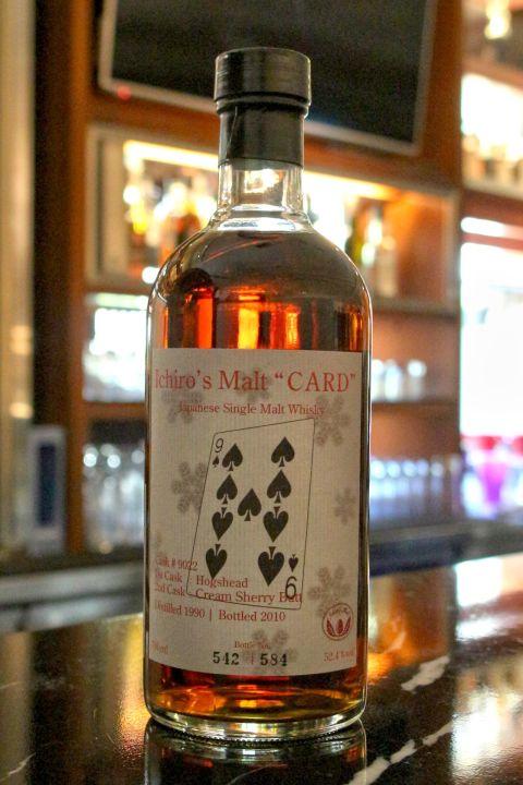 "Hanyu Ichiro's Malt ""Card"" Single Cask 羽生 撲克牌 黑桃9 單桶 (700ml 52.4%)"