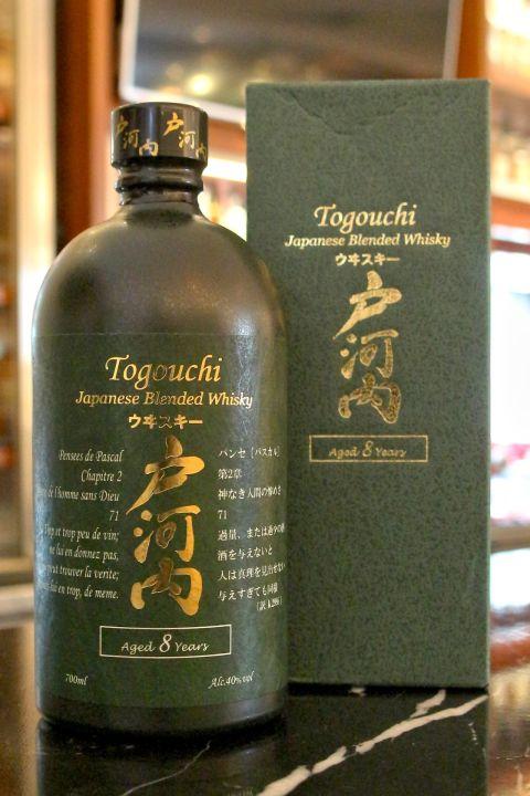 (現貨) Togouchi 8 years Blended Whisky 戶河內 8年 日本調和威士忌 (700ml 40%)