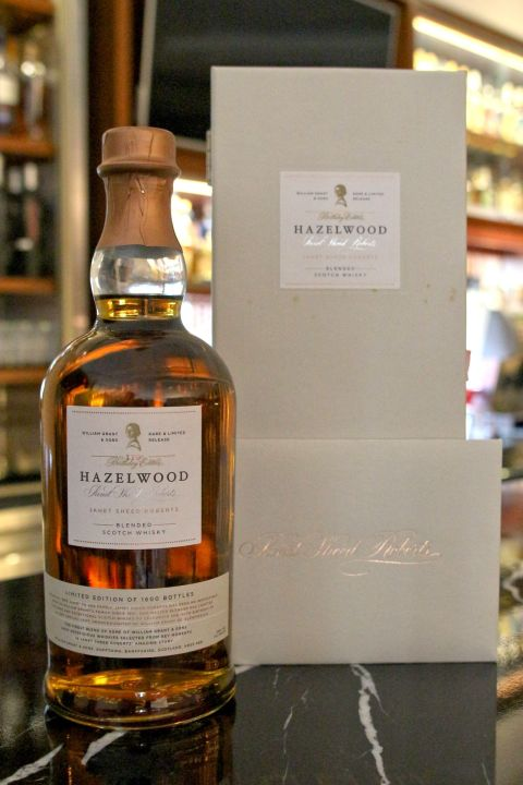 (現貨) HAZELWOOD Janet Sheed Roberts 110 Birthday Edition 110歲生日紀念版  (700ML 55%)
