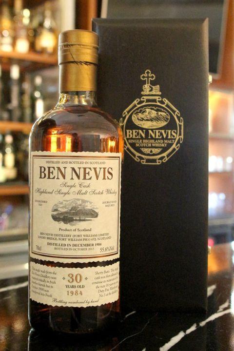 (現貨) Ben Nevis 1984 30 years 班尼富 1984 30年 稀有珍藏 (700ml 55.6%)