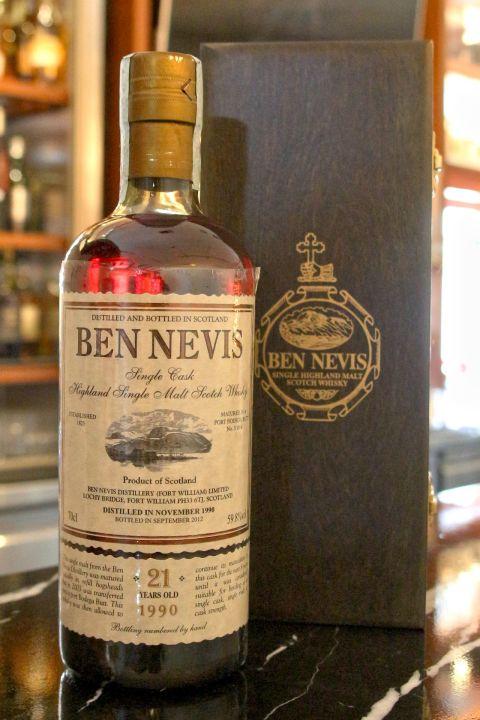 (現貨) Ben Nevis 1990 21 years 班尼富 1990 21年 稀有珍藏 (700ml 59.8%)