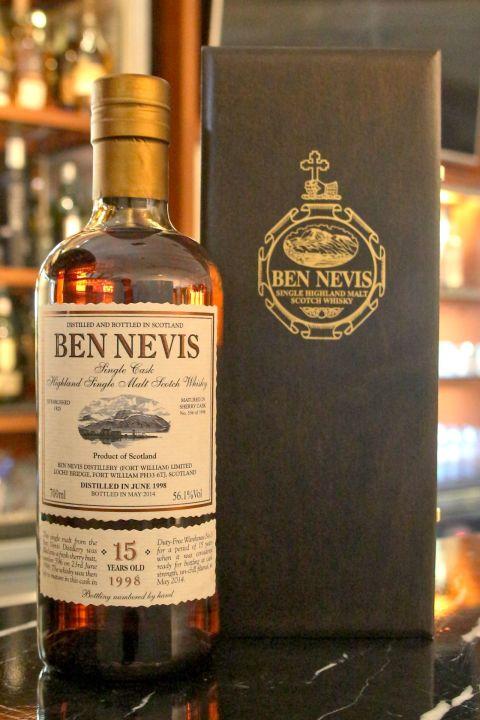 Ben Nevis 1998 15 years 班尼富 1998 15年 稀有珍藏 (700ml 56.1%)