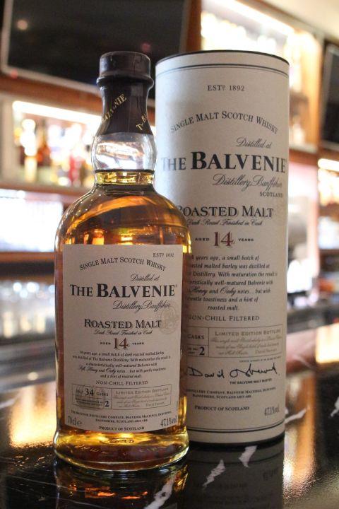 (現貨) The BALVENIE 14 years Roasted Malt 百富 14年 重焙麥芽 (700ml 47.1%)
