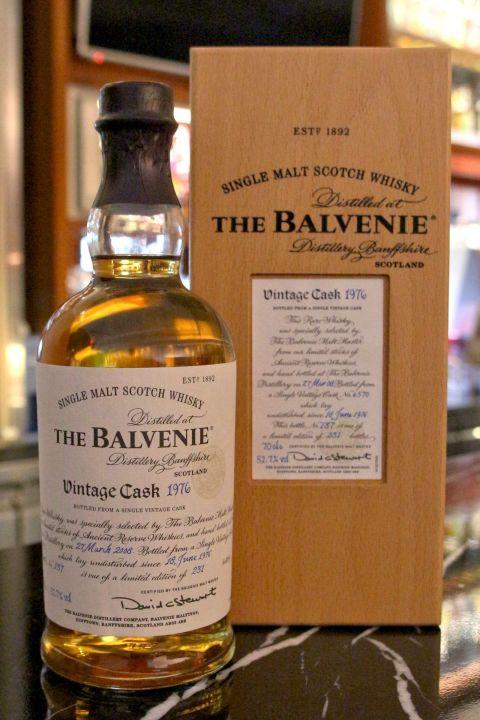 The BALVENIE Vintage Cask 1976 31 years 百富 1976 31年 單桶 (700ml 52.7%)