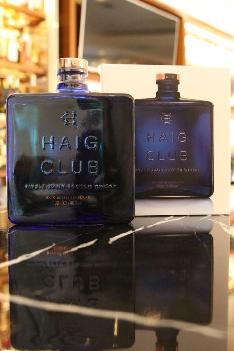(現貨) Haig Club Single Grain Whisky 翰格俱樂部 單一穀物威士忌 (700ml 40%)