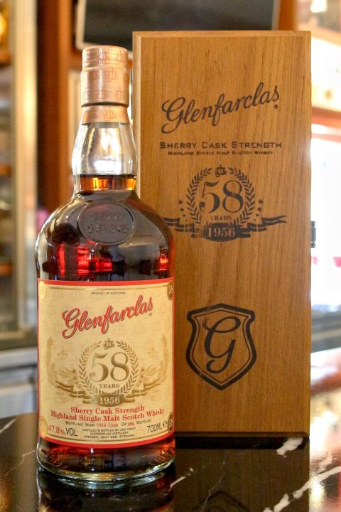 (現貨) Glenfarclas 1956 58 years 格蘭花格 1956 58年 原酒 (700ml 47.8%)