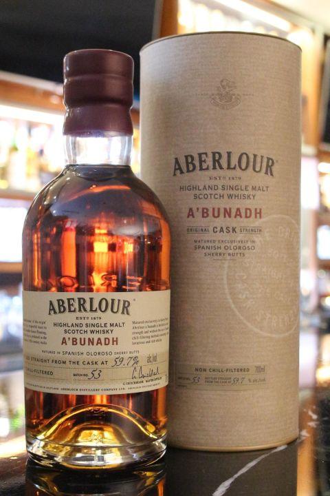 (現貨) Aberlour A'bunadh Batch 53 亞伯樂 雪莉桶原酒 第53批次 (700ml 59.7%)