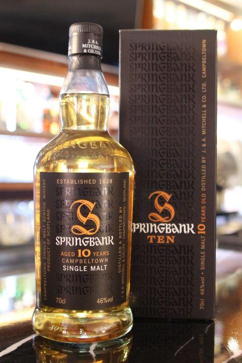 Springbank 10 years 雲頂 10年 (700ml 46%)