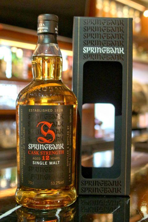 (現貨) Springbank 12 years Cask Strength Batch 10 雲頂 12年 原酒 第10版 (700ml 53.2%)