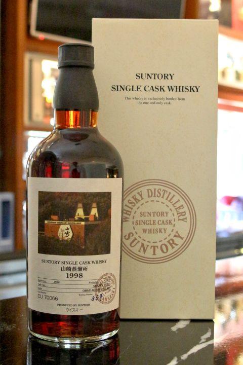(現貨) Yamazaki 1998 Suntory Single Cask sherry butt 山崎蒸餾所 1998 雪莉單桶 (700ml 61%)