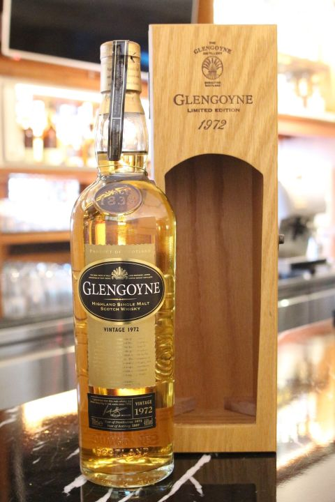 Glengoyne Vintage 1972 格蘭哥尼 1972 (700ml 46%)