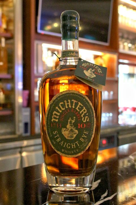 (現貨) Michter's Single Barrel Straight Rye 10 years 酩帝 10年 單桶裸麥 (700ml 46.4%)