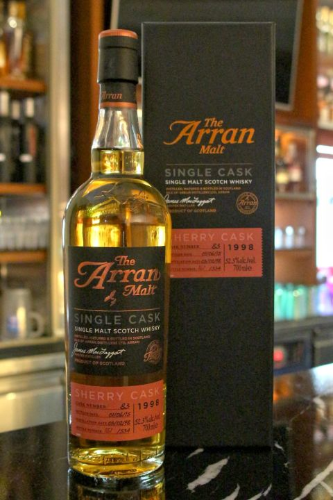 (現貨) ARRAN 1998 Single Sherry Cask #83 愛倫 1998 17年 單桶 雪莉桶 (700ml 52.3%)