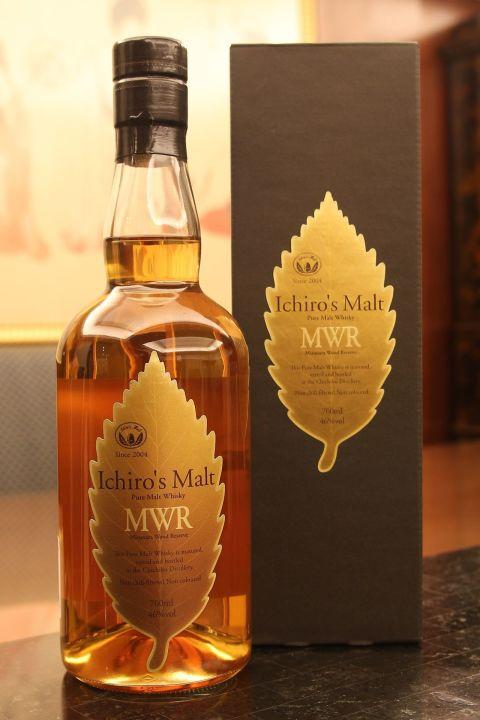 (現貨) CHICHIBU Ichiro's Malt Mizunara Wood Reserve  秩父 金葉 水楢桶 (700ml 46%)