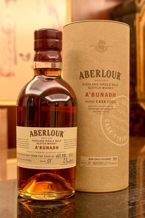 (現貨) Aberlour A'bunadh Batch 55 亞伯樂 雪莉桶原酒 第55批次 (700ml 60.9%)