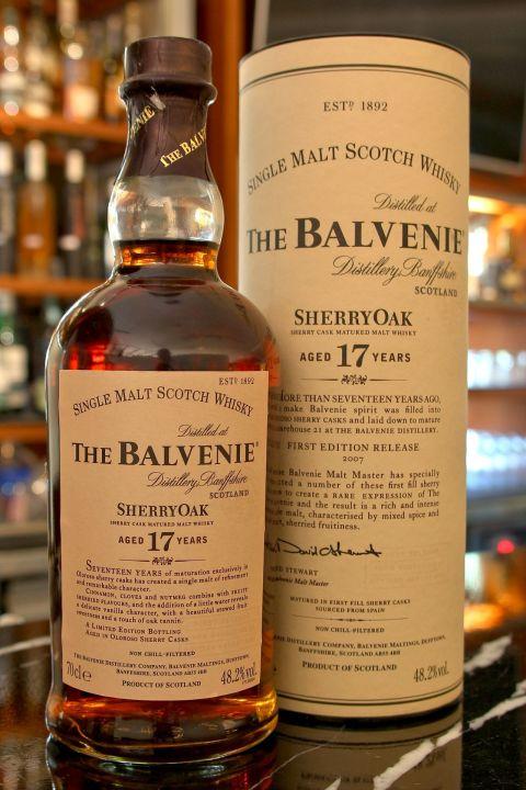 (現貨) The BALVENIE 17 years Sherry Cask 1st batch 百富 17年 雪莉桶 第一版 (700ml 48.2%)