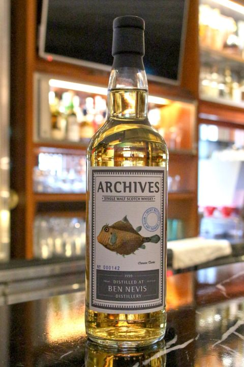 (現貨) ARCHIVES Ben Nevis 1999 16 years 班尼富 1999 16年 單桶 (700ml 55.4%)