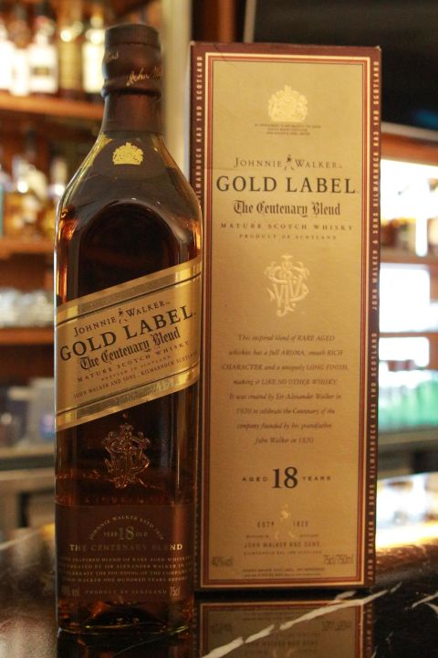 (現貨) Johnnie Walker Gold Label 18 years 約翰走路 金牌 18年 老品 (750ml 40%)