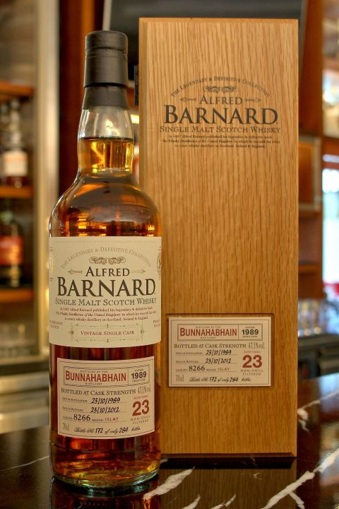 ALFRED BARNARD Bunnahabhain 1989 23 years Single Cask 布納哈本 1989 23年 單桶原酒 (700ml 47.1%)