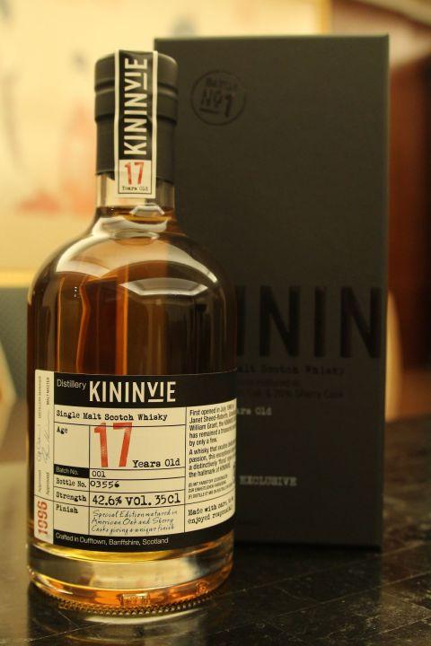 (現貨) Kininvie17 years Batch No.1 奇富 17年 第一版 (350ml 42.6%)